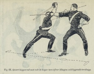 Högparad från 1893 års handbok